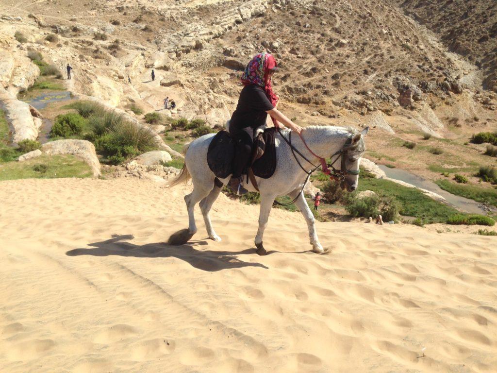 Gill Kapadia in Morocco